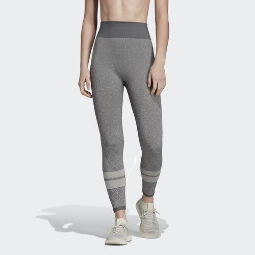 adidas - Wanderlust Seamless High-Rise 7/8 Leggings Grey Six / Raw White DZ5600